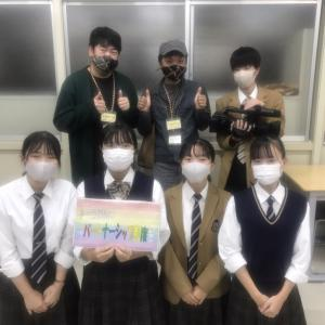 高田高等学校放送部に行ってきました。