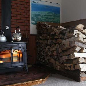 暴風で家は揺れるわ薪は減るわ…!