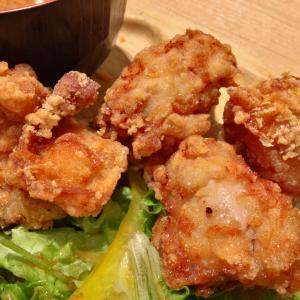 名古屋駅前 大名古屋ビルヂング3F 炭火やきとりレアルグランデ やみつき からあげ定食 を食べてみた。