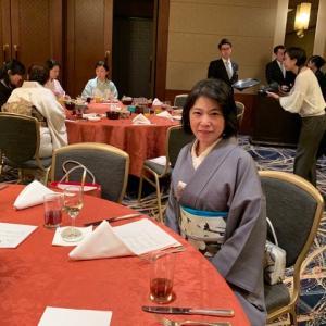 日本テーブル茶道協会新年会&4周年パーティでした