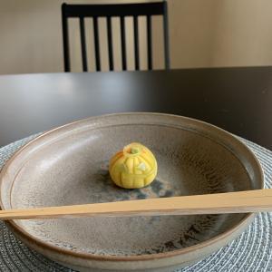 ハロウィンのお菓子で「おもてなし茶の湯」でした