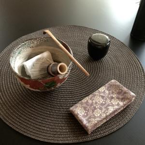 雲錦茶碗で野点をしてみたい願望