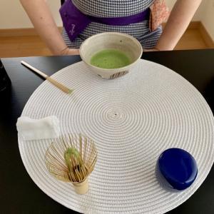 水無月最初の茶道教室でした