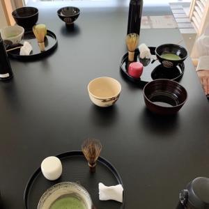 長月最初の茶道教室でした