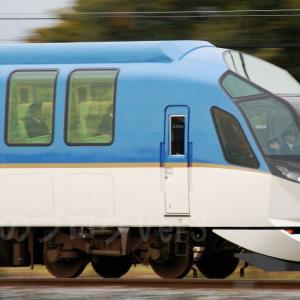 「お召し列車」に充当された近鉄特急車50000系50103F