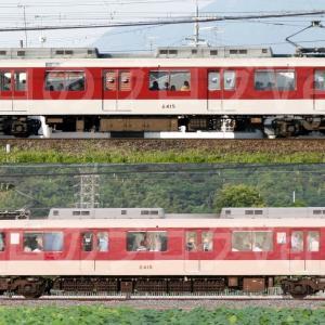 【資料】車両側面-近鉄2410系2415F