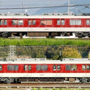 【資料】車両側面-近鉄2410系2422F