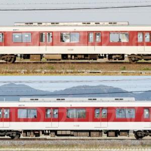 【資料】車両側面-近鉄1026系1032F