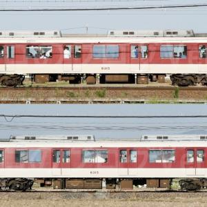【資料】車両側面-近鉄8400系8415F