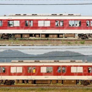 【資料】車両側面-近鉄3200系3207F