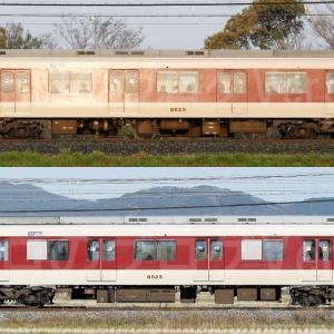 【資料】車両側面-近鉄8810系8825F