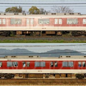 【資料】車両側面-近鉄8000系8079F