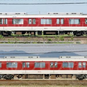 【資料】車両側面-近鉄8400系8411F