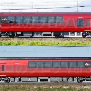 【資料】車両側面-近鉄80000系80101F