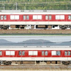 【資料】車両側面-近鉄8800系8803F