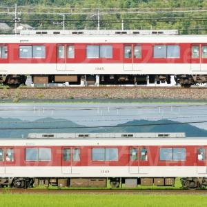 【資料】車両側面-近鉄1233系1245F