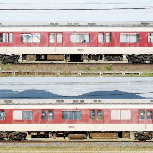 【資料】車両側面-近鉄8600系8604F