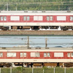 【資料】車両側面-近鉄8600系8605F