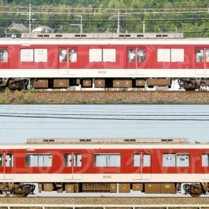 【資料】車両側面-近鉄3200系3202F