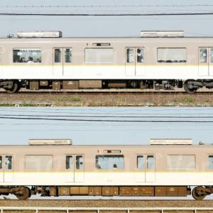 【資料】車両側面-近鉄3220系3221F