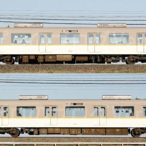 【資料】車両側面-近鉄3220系3223F