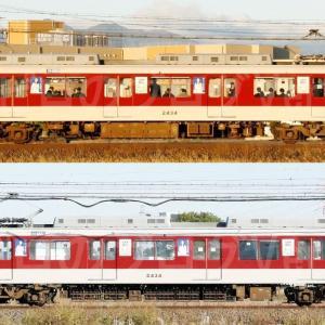 【資料】車両側面-近鉄2430系2434F
