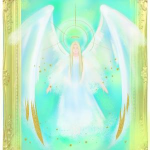 天使を描く