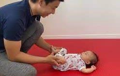 赤ちゃんのお腹がポンポンに張ってビックリして受診!?