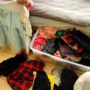 衣替え*子供部屋♡クローゼットの中身♡