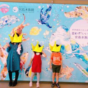 広島旅行②〜宮島水族館〜