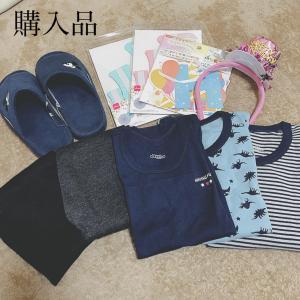 本日の購入品♡しまむら・西松屋・ダイソー
