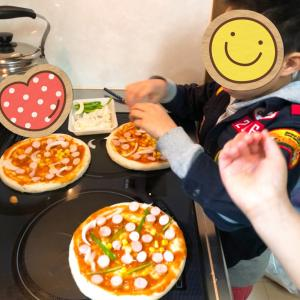 アレっ子のピザ♡チーズなし