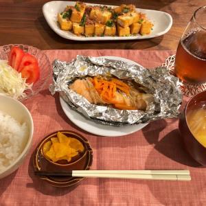 【おうちごはん】簡単♪鮭のボイル焼き
