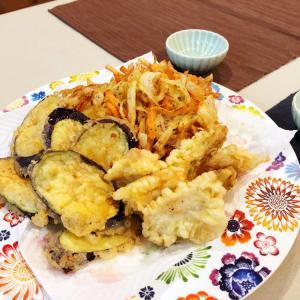 【おうちごはん】大好きな天ぷら!