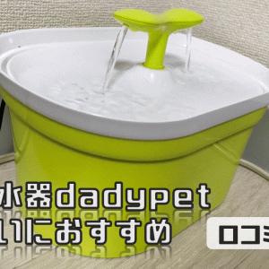 猫の自動給水器dadypetのレビュー:多頭飼いにおすすめ【口コミ・評価】