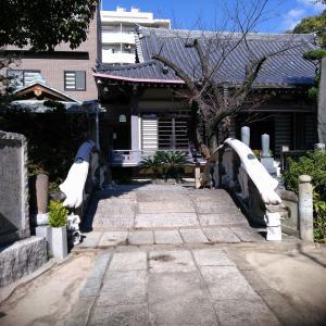 今回は大阪クジラ橋のある寺