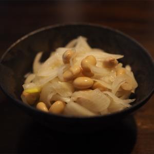 【レシピ】玉ねぎと大豆のさっぱりマリネ