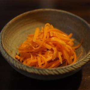 【レシピ】もりもり食べちゃう、ニンジンのマリネ! ハマりすぎてる。
