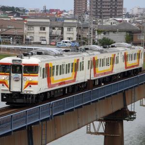 越後線 115系団体列車ぐるっと越後 (2019年9月)