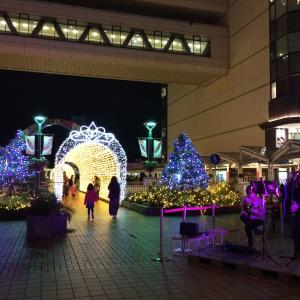 豊田市駅前 イルミネーションコンサート