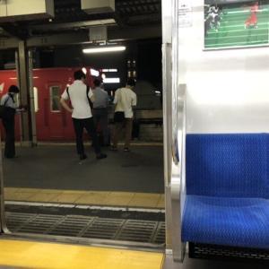 三河線豊田市駅 知立行き到着