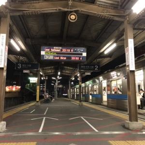 三河線豊田市駅 普通列車柏森行き