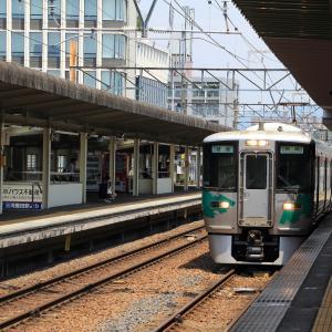 愛知環状鉄道新豊田駅 普通列車岡崎行き (2020年7月)