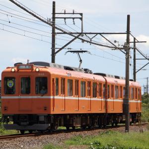 養老鉄道下深谷 普通列車大垣行き (2020年9月)