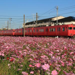 名鉄三河線 普通列車知立行き (2020年10月)