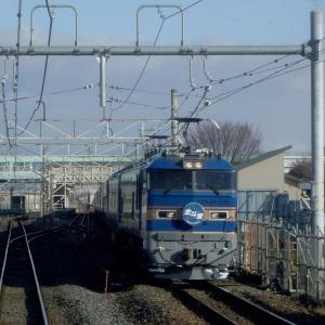 東北本線氏家 EF510515特急北斗星 (2011年3月)