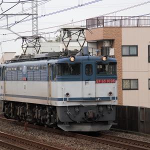 総武本線小岩駅 鹿島貨物運転再開 (2011年5月)
