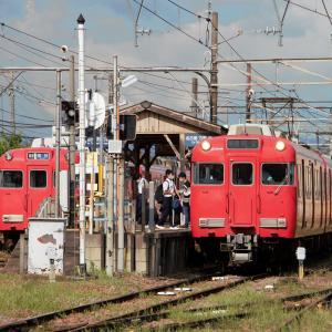 三河線三河知立駅 普通列車知立行き (2021年7月)