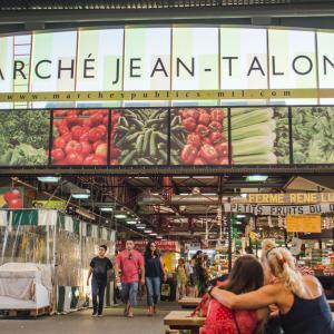 モントリオールの観光スポット⑤ジャンタロン市場