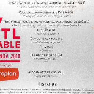 美食の街モントリオールでレストランをお得に楽しめるイベントMTL à Table!11月13日まで開催中!